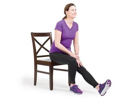 کشش عضلات عقب ران